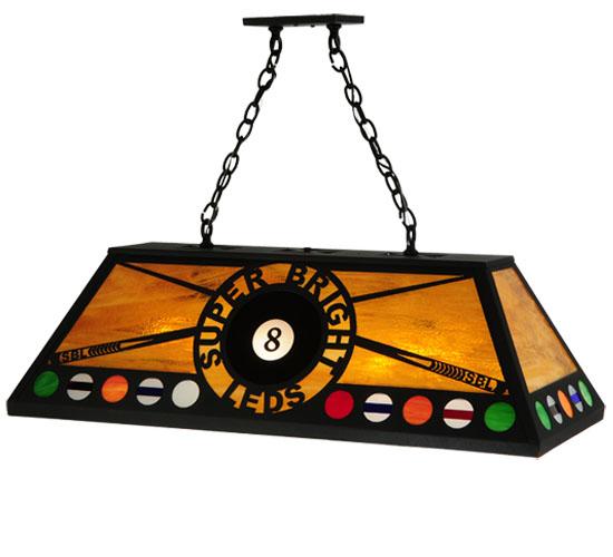 """39"""" Custom Bright LED Pool Table Light   BilliardLux"""