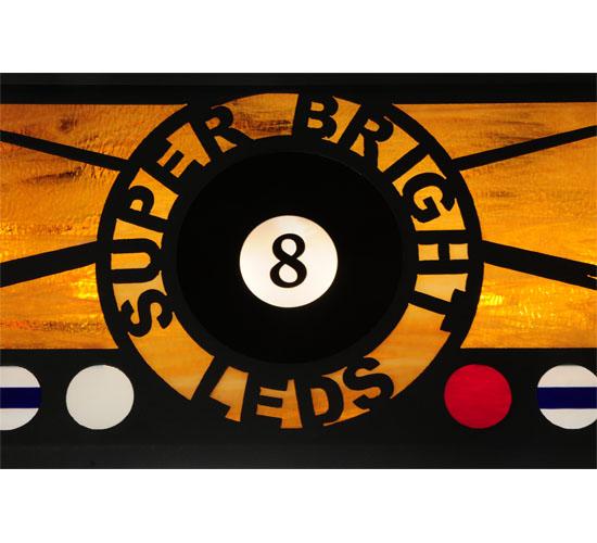"""39"""" Custom Bright LED Pool Table Light"""