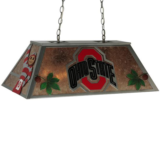 33 Custom Ohio State Pool Table Light