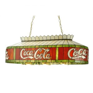 40″L Coca-Cola Oblong Pool Table Pendant