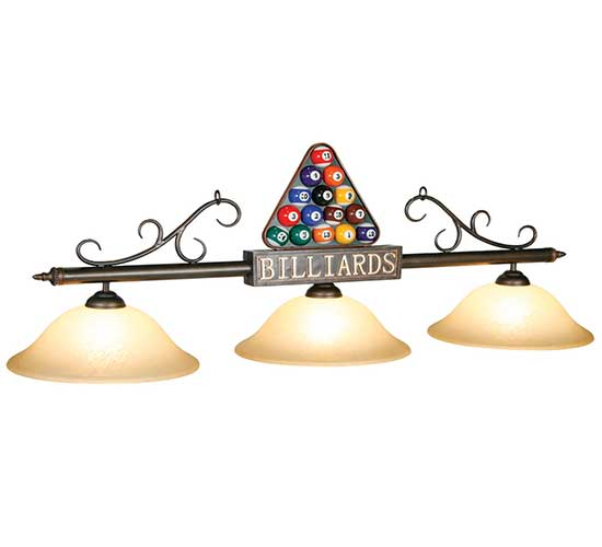 Billiard Rack Pool Table Light