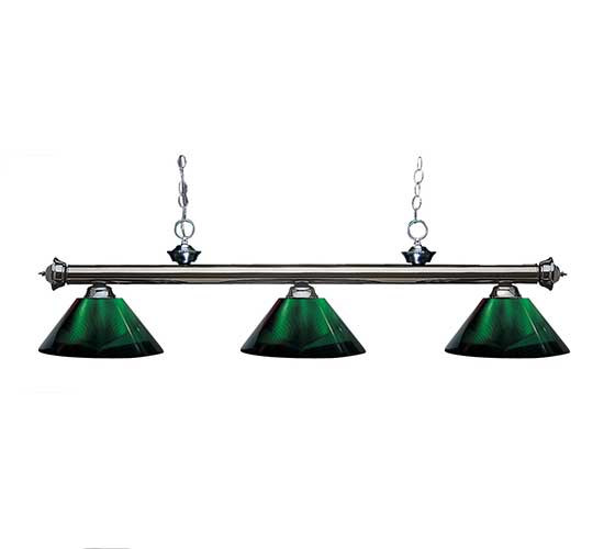 57 Acrylic Green Pool Table Light