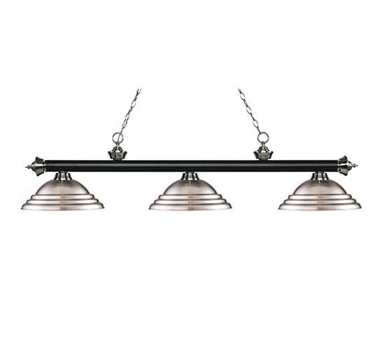 "59"" Stepped Metal Pool Table Light"