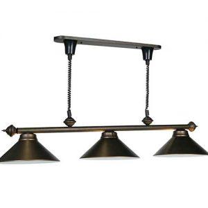 3 Light Retractable Pool Table Light