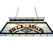Red 4 Light Pool Cue Billiard Table Light - z42-26-04