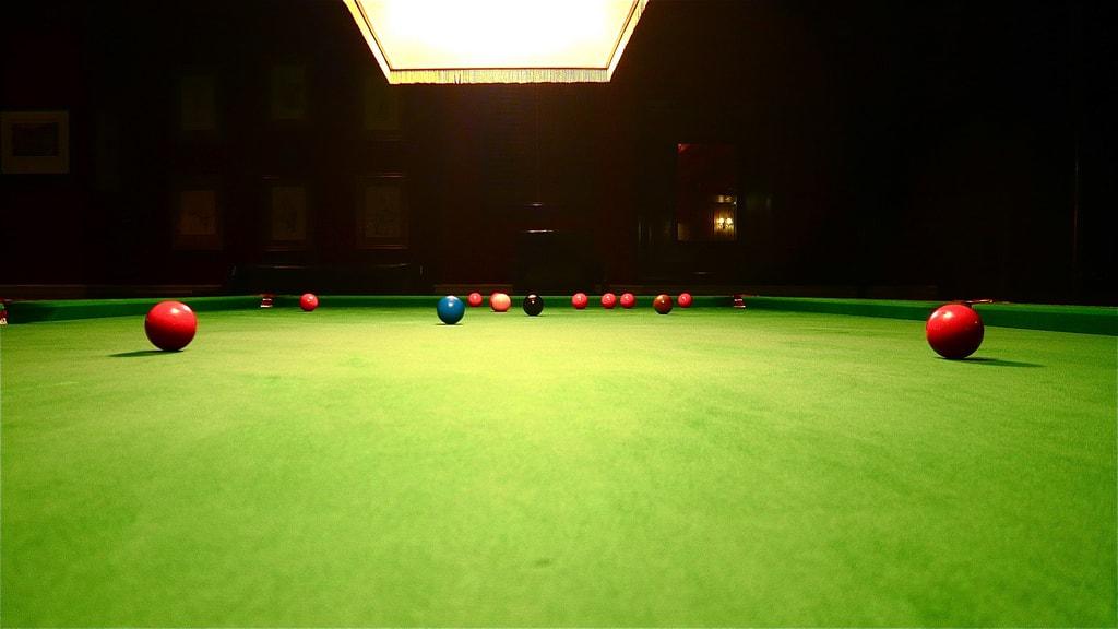 Proper Billiard Table Lighting Explanation Image