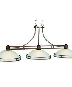 "RAM Game Room Cosmopolitan 56"" Bronze Pool Table Light"