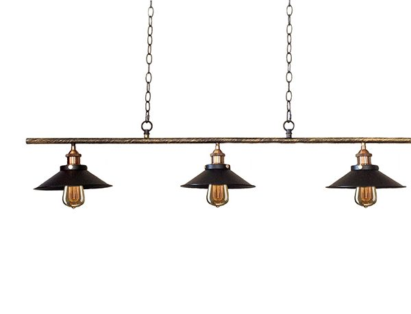 Warehouse Of Tiffany Edison LD4012S Olive Pool Table Light