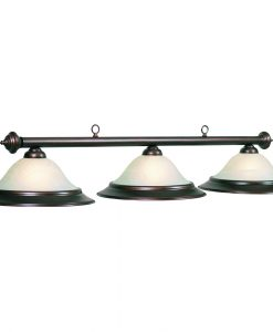 "60"" Oil Rubbed 3 Light Pool Table Light"
