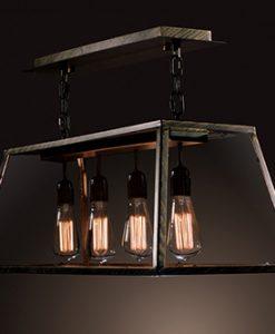 Warehouse of Tiffany Edison LD4011 4-Light Pool Table Light