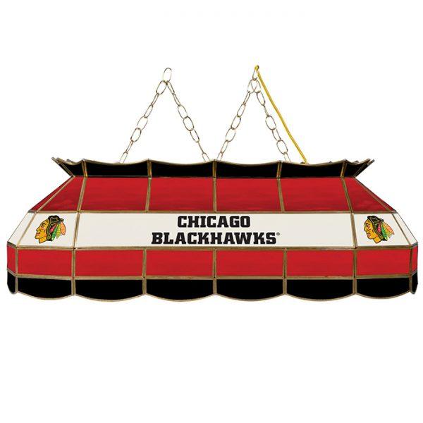 "40"" NHL Chicago Blackhawks® Pool Table Light"