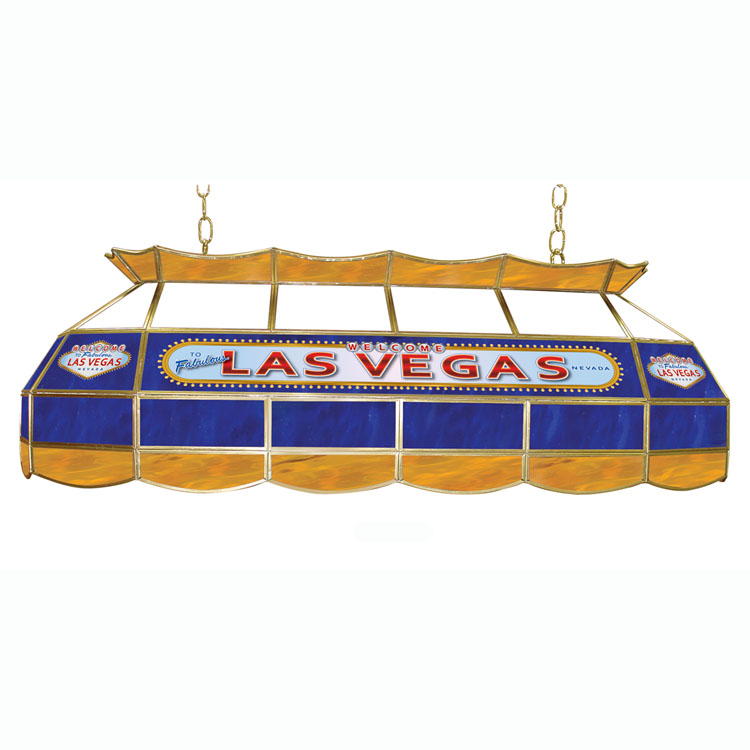 "40"" Trademark Global Las Vegas Poker Table Light"
